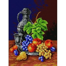 Martwa natura - kielich i owoce (No 563)