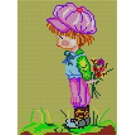 Chłopiec z bukietem (No 514)