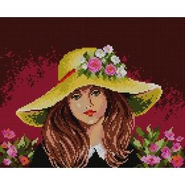 Dziewczynka w kapeluszu (No 572)