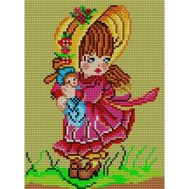 Dziewczynka z lalką (No 513)