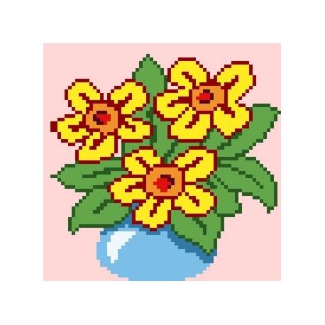 Bukiet kwiatów (No 5136)