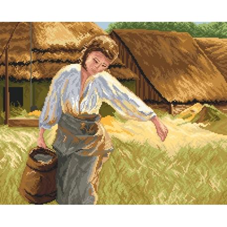 Dziewczyna z dzbanem wg A. Kędzierski (No 9753)