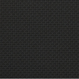 Kanwa 12ct (46 oczek/10 cm) czarny