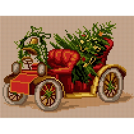 Świąteczny samochód (No 5806)