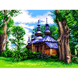 Bieszczadzka cerkiew (No 7247)