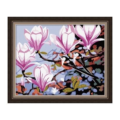 Gałązka z kwiatami (No MG049)
