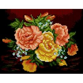 Bukiet kwiatów - róże (No 5329)