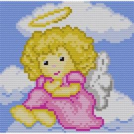 Aniołek na chmurce (No 5521)