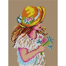 Dziewczynka w kapeluszu (No 373)