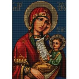 Ikona - Matka Boska z dzieciątkiem (No 7157)