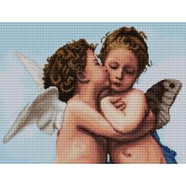 Pierwszy pocałunek wg W.A. Bouguereau (No 7167)