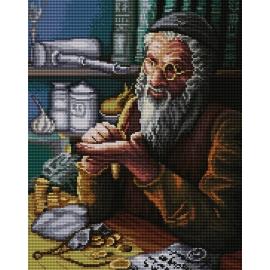 Żyd liczący pieniądze wg Piotr Sobczyk (No 7191)