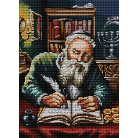 Żyd liczący pieniądze wg Piotr Sobczyk (No 7192)