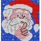 Święty Mikołaj - hafty  (No 5077)