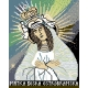 Haft krzyżykowy - do wyboru: kanwa z nadrukiem, nici Ariadna/DMC, wzór graficzny - Matka Boska Ostrobramska (No 5040)