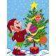 Boże Narodzenie - haft Skrzat (No 5074)
