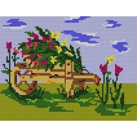 Kwiaty w ogrodzie (No 537)