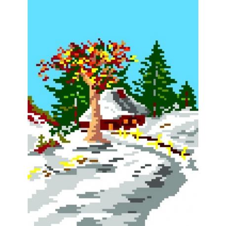 Pejzaż zimowy (No 133)