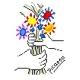 Bukiet kwiatów wg Picasso (No 5114)
