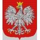 Haft krzyżykowy - do wyboru: kanwa z nadrukiem, nici Ariadna/DMC, wzór graficzny - Godło Polski (No 306)