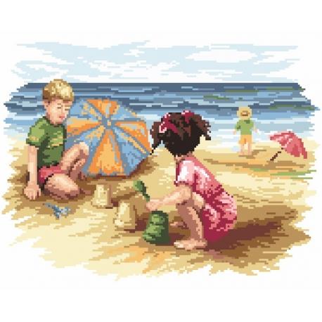 Dzieci na plaży (No 94501)