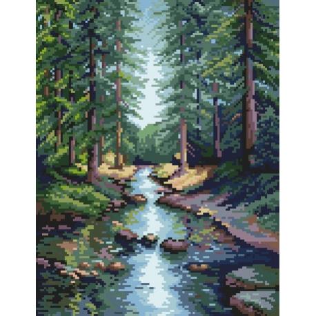 Leśny potok wg S.Sikora (No 94532)