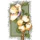 Haft krzyżykowy - do wyboru: kanwa z nadrukiem, nici Ariadna/DMC, wzór graficzny - Kwiaty wiśni wg B. Sikora (No 94542)
