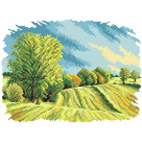 Obrazek do haftowania - Cztery pory roku - lato (No 5284)