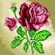 Obrazek do haftu dla dzieci - Róża (No 5537)
