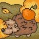 Obrazek do haftu dla dzieci - Jeżyk (No 5547)