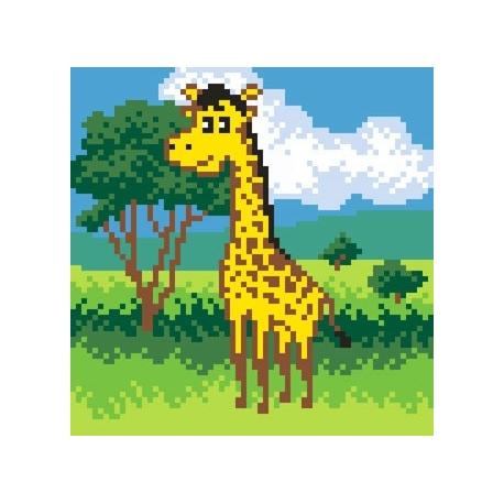 Obrazek do haftu dla dzieci - Żyrafa  (No 5549)