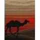 Haft krzyżykowy - do wyboru: kanwa z nadrukiem, nici Ariadna/DMC, wzór graficzny - Sahara (No 5144)