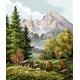Krajobraz górski (No 7074)