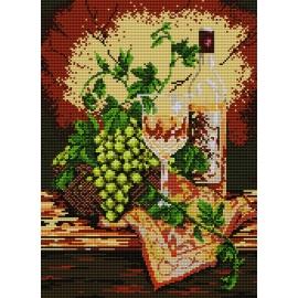 Martwa natura - białe wino (No 5178)