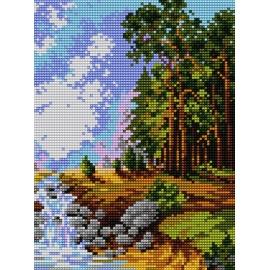 Rzeka w lesie (No 5184)