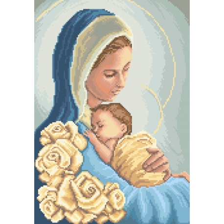 Madonna z dzieciątkiem (No 7088)