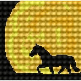Kanwa do haftu dla dzieci - Koń (No 5205)