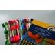 Kanwa z nadrukiem kolorowym dla dzieci - Chatka (No 5636)