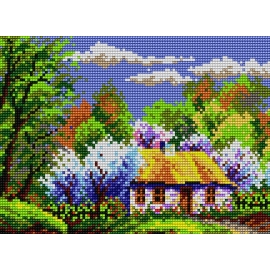 Krajobraz wiosenny (No 5182)
