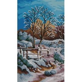 Pejzaż zimowy (No 5217)