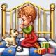 Haft krzyżykowy - do wyboru: kanwa z nadrukiem, nici Ariadna/DMC, wzór graficzny - Modlitwa - chłopiec (No 7127)