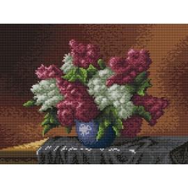 Obrazek do haftowania - Bzy w wazonie (No 5245)