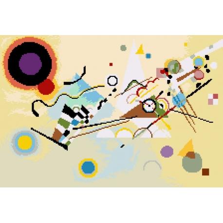 Kandinsky - Kompozycja VIII (No 7098)
