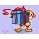 Miś z prezentem (No 5456)