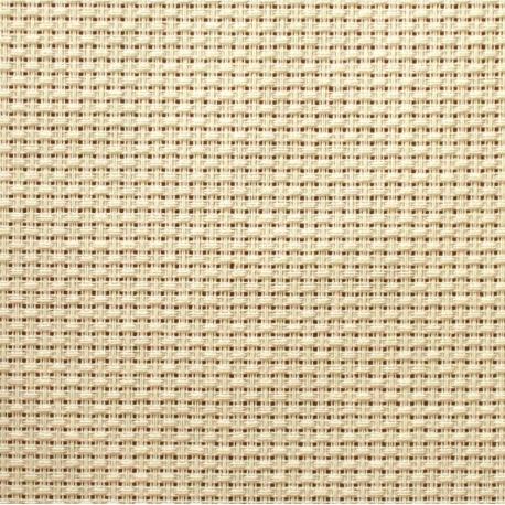 Kanwa AIDA 12ct (46 oczek/10 cm) jasny kremowy tkanina do haftu krzyżykowego