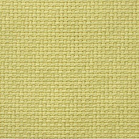 Kanwa AIDA 12ct (46 oczek/10 cm) jasno żółty tkanina do haftu krzyżykowego