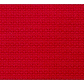 Kanwa 12ct (46 oczek/10 cm) czerwony