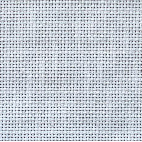 Kanwa AIDA 14ct (54 oczek/10 cm) biała tkanina do haftu krzyżykoweg