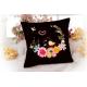 Kanwa AIDA 14ct (54 oczek/10 cm) kolor czarny tkanina do haftu krzyżykowego