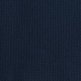 Kanwa AIDA 14ct (54 oczek/10 cm) kolor granatowy tkanina do haftu krzyżykowego